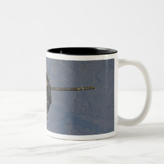 The Soyuz TMA-19 spacecraft 2 Two-Tone Coffee Mug