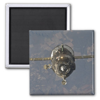 The Soyuz TMA-19 spacecraft 3 Square Magnet