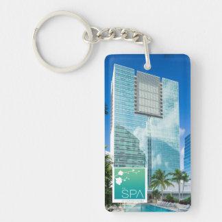 The Spa at Conrad Miami R&R Keychain