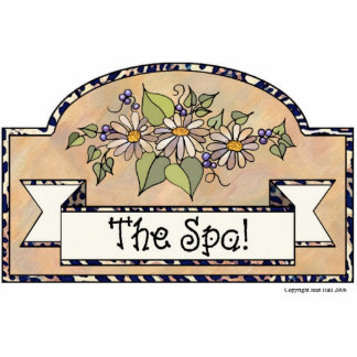 The Spa - Decorative Sign Photo Cut Out