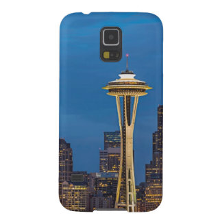 The Space Needle and downtown Seattle Galaxy S5 Cases
