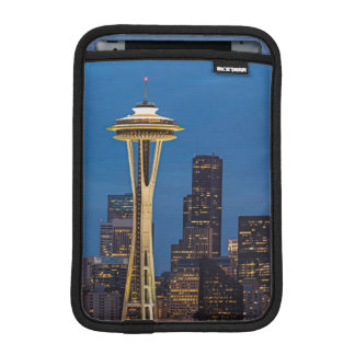 The Space Needle and downtown Seattle iPad Mini Sleeve