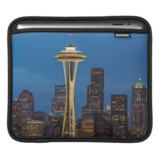 The Space Needle and downtown Seattle iPad Sleeves