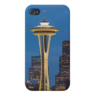 The Space Needle and downtown Seattle iPhone 4/4S Covers