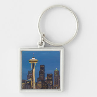 The Space Needle and downtown Seattle Key Chains