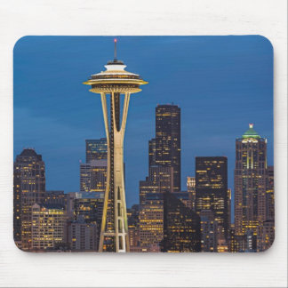 The Space Needle and downtown Seattle Mouse Pad