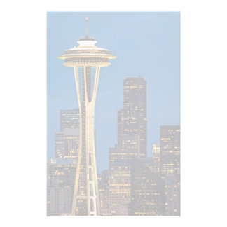 The Space Needle and downtown Seattle Stationery