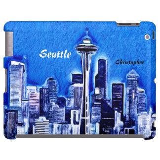 The Space Needle - Seattle, Washington iPad Case