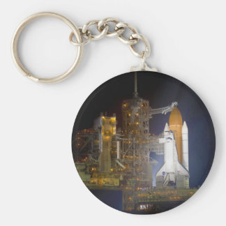 The Space Shuttle Discovery at Launch Pad 39A Key Ring