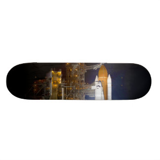The Space Shuttle Discovery at Launch Pad 39A Skateboard Decks