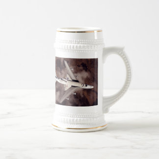 The Space Shuttle Riding Piggyback Beer Steins