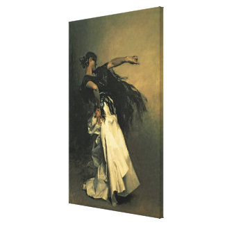 The Spanish Dancer, study for 'El Jaleo', 1882 Canvas Print