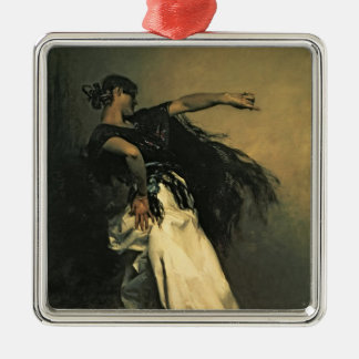 The Spanish Dancer, study for 'El Jaleo', 1882 Christmas Ornament