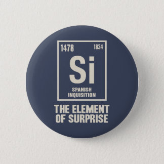 The Spanish Element 6 Cm Round Badge