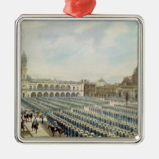 The Spanish Expeditionary Corps in Vera Cruz Silver-Colored Square Decoration
