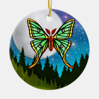 The Spanish Moon Moth Ornament