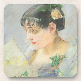 The Spanish Woman (pastel on paper) Coaster