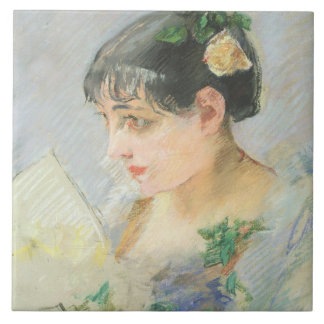 The Spanish Woman (pastel on paper) Tile