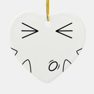The Spanker Ceramic Heart Decoration