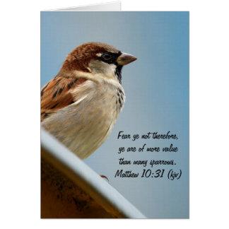 The Sparrow Card