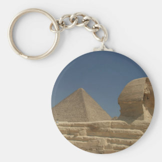 The Sphinx Basic Round Button Key Ring