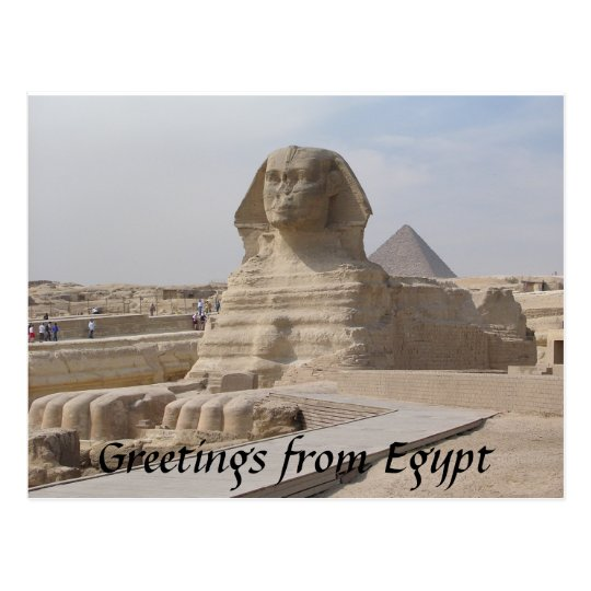 The Sphinx,Cairo Postcard
