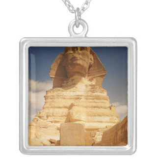 The Sphinx, dating from the reign of King Silver Plated Necklace
