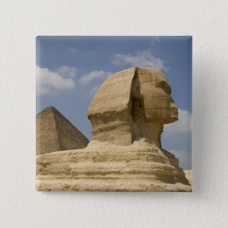 The Sphinx, Giza, Al Jizah, Egypt 15 Cm Square Badge