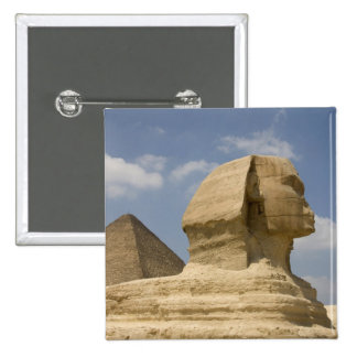 The Sphinx, Giza, Al Jizah, Egypt 15 Cm Square Badge