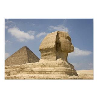 The Sphinx, Giza, Al Jizah, Egypt Photographic Print