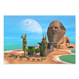 The Sphinx Photo Print