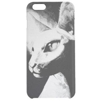 The Sphynx Cat Feline Art iPhone 6+ Clear Case