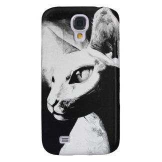 The Sphynx Cat Feline Original Art Galaxy S4 Case