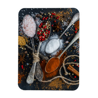 The Spices of Spoons Rectangular Photo Magnet