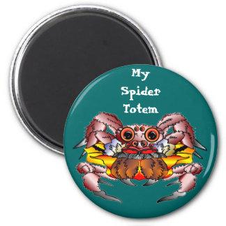 The Spider Totem 6 Cm Round Magnet