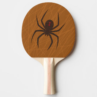The Spider's Web Ping Pong Paddle