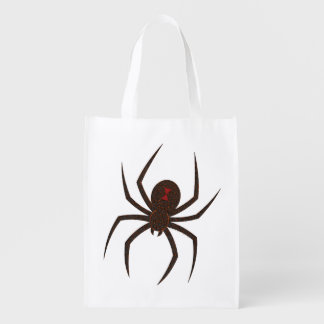 The Spider's Web Reusable Grocery Bag