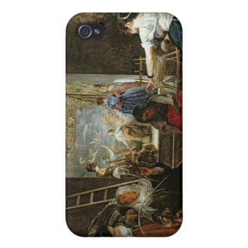 The Spinners, or The Fable of Arachne, 1657 iPhone 4 Cover