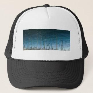 the spiral forest trucker hat