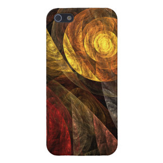 The Spiral of Life Abstract Art Cover For iPhone 5/5S