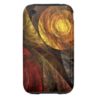 The Spiral of Life Abstract Art iPhone 3G / 3GS iPhone 3 Tough Covers