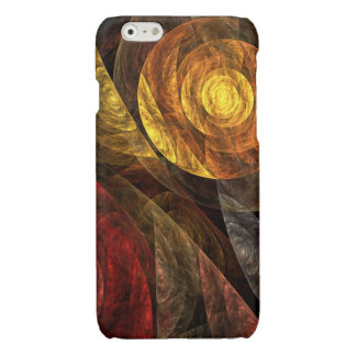 The Spiral of Life Abstract Art iPhone 6 Plus Case