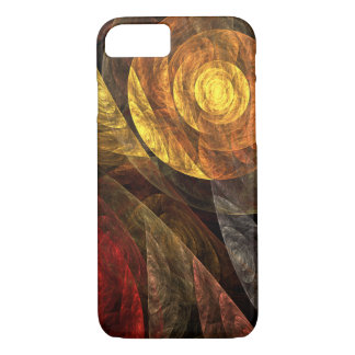 The Spiral of Life Abstract Art iPhone 8/7 Case