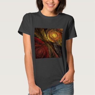 The Spiral of Life Abstract Art T Shirt