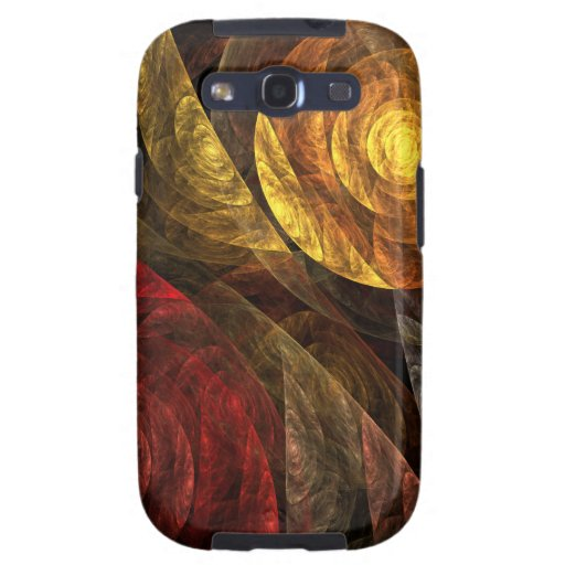 The Spiral of Life Abstract Samsung Galaxy S3 Samsung Galaxy SIII Cases