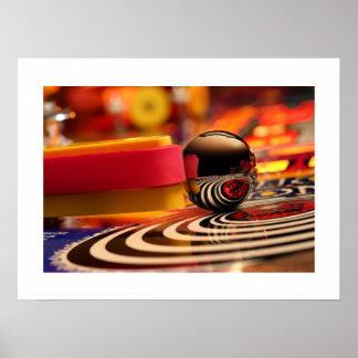 The Spiral Pinball Poster