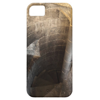 The spiral staircase leading to the top of the barely there iPhone 5 case