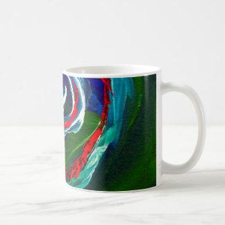 The Spiral Wave of Infinity Basic White Mug
