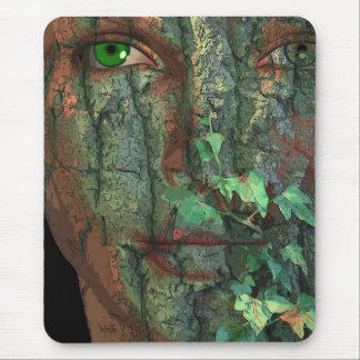 The Spirit about Ghost of Trees Mouse Pad