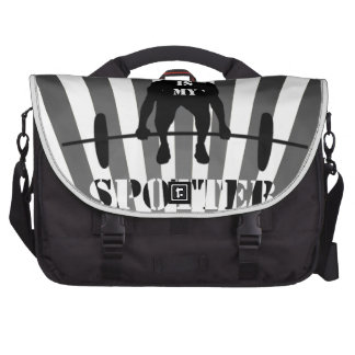 The Spirit is My Spotter Laptop Bags